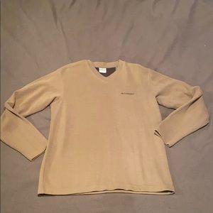 Columbia v neck sweater medium super comfy